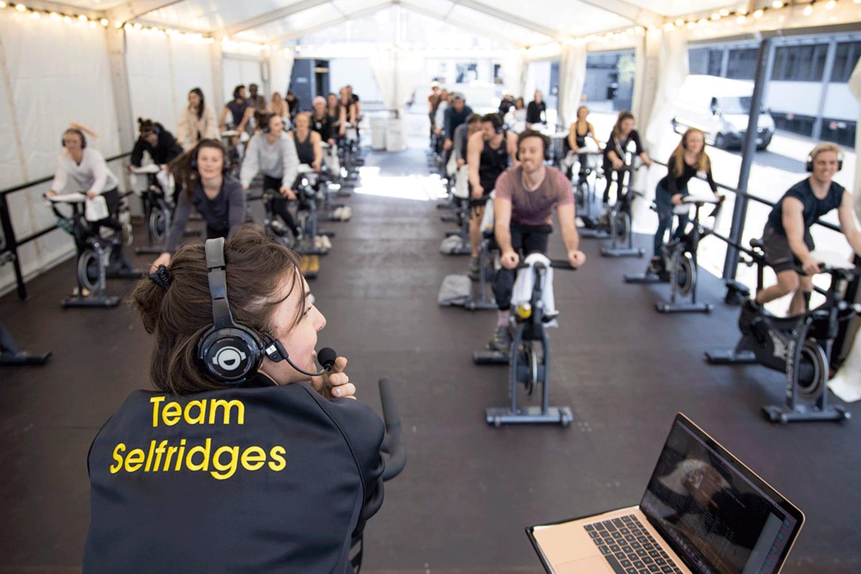 WEB Selfridges x Soul Cycle Outside 4