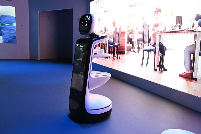 WEB Samsung CES 2019 Booth Samsung Bot DSC 7759