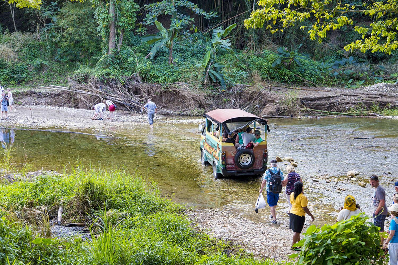 JWT RIV minibus crossing river