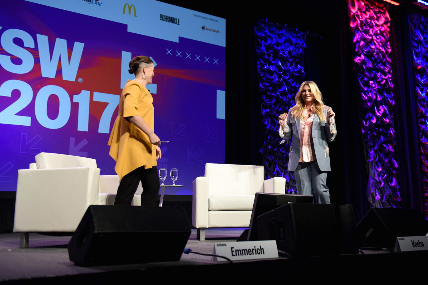 Refinery29s Amy Emmerich and Kesha Discuss Reclaiming the Internet 2017 SXSW Conference and Festivals