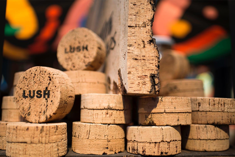 WEB Lush Cork Pot Packaging