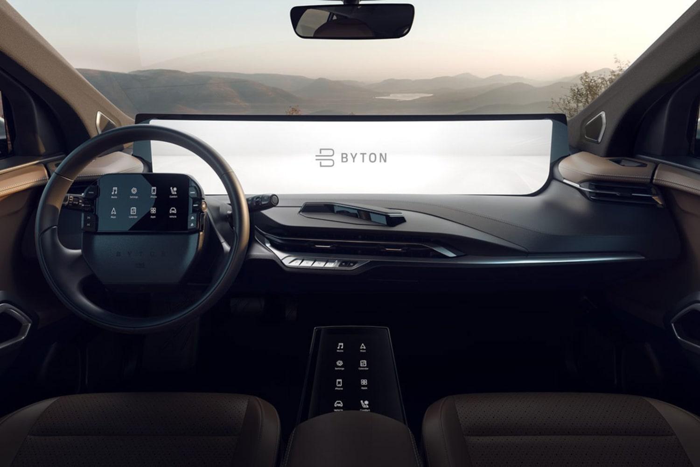 WEB M Byte interior and UI CES 2019