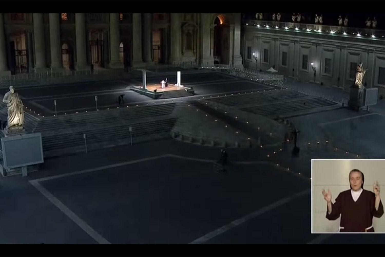 WEB vatican livestream
