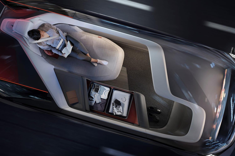 WEB 237047 Volvo 360c Interior Sleeping