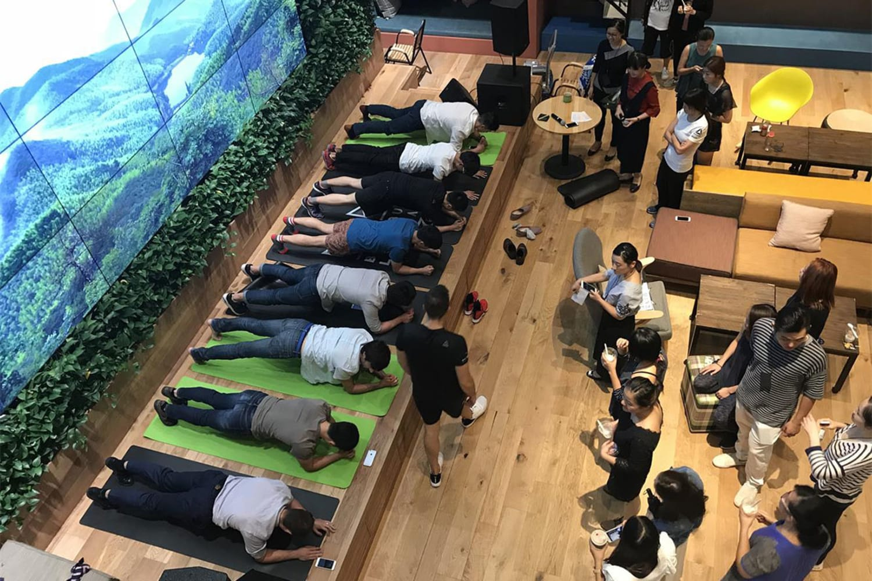WEB Spirit plank challenge