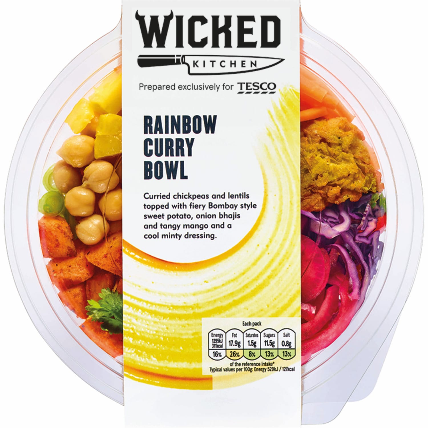 JWT wicked kitchen rainbow curry bowl pack