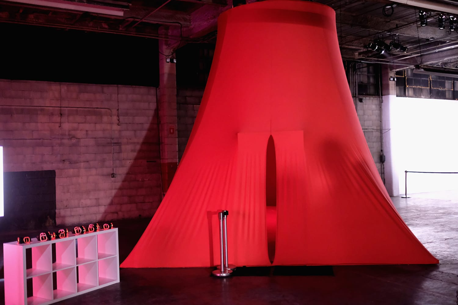 The Womb by Cleo Wadeat Refinery29 Third Annual 29 Rooms Turn It Into Art Press Preview