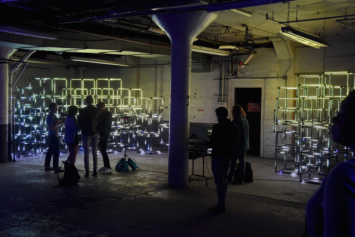 Light it Up by Symmetry Labs at Refinery29 Third Annual 29 Rooms Turn It Into Art Press Preview
