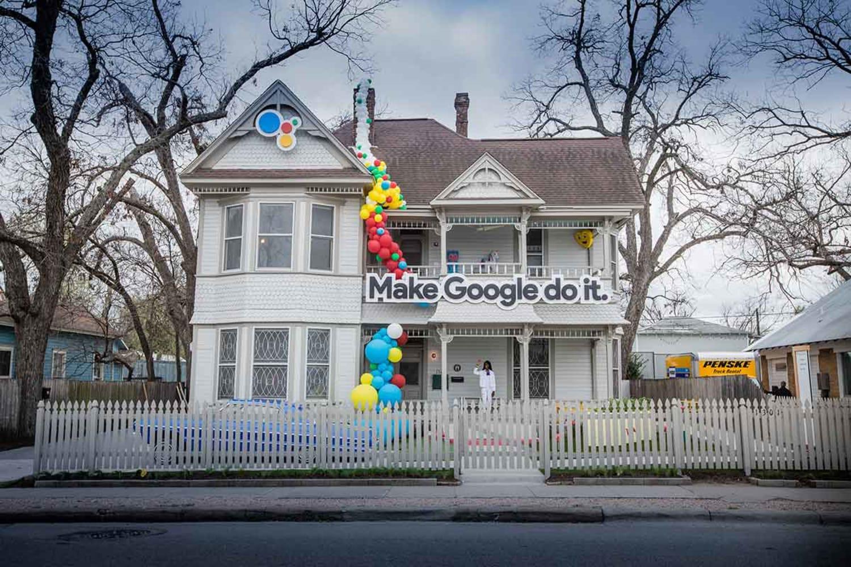 WEB Google Assistant Fun House1