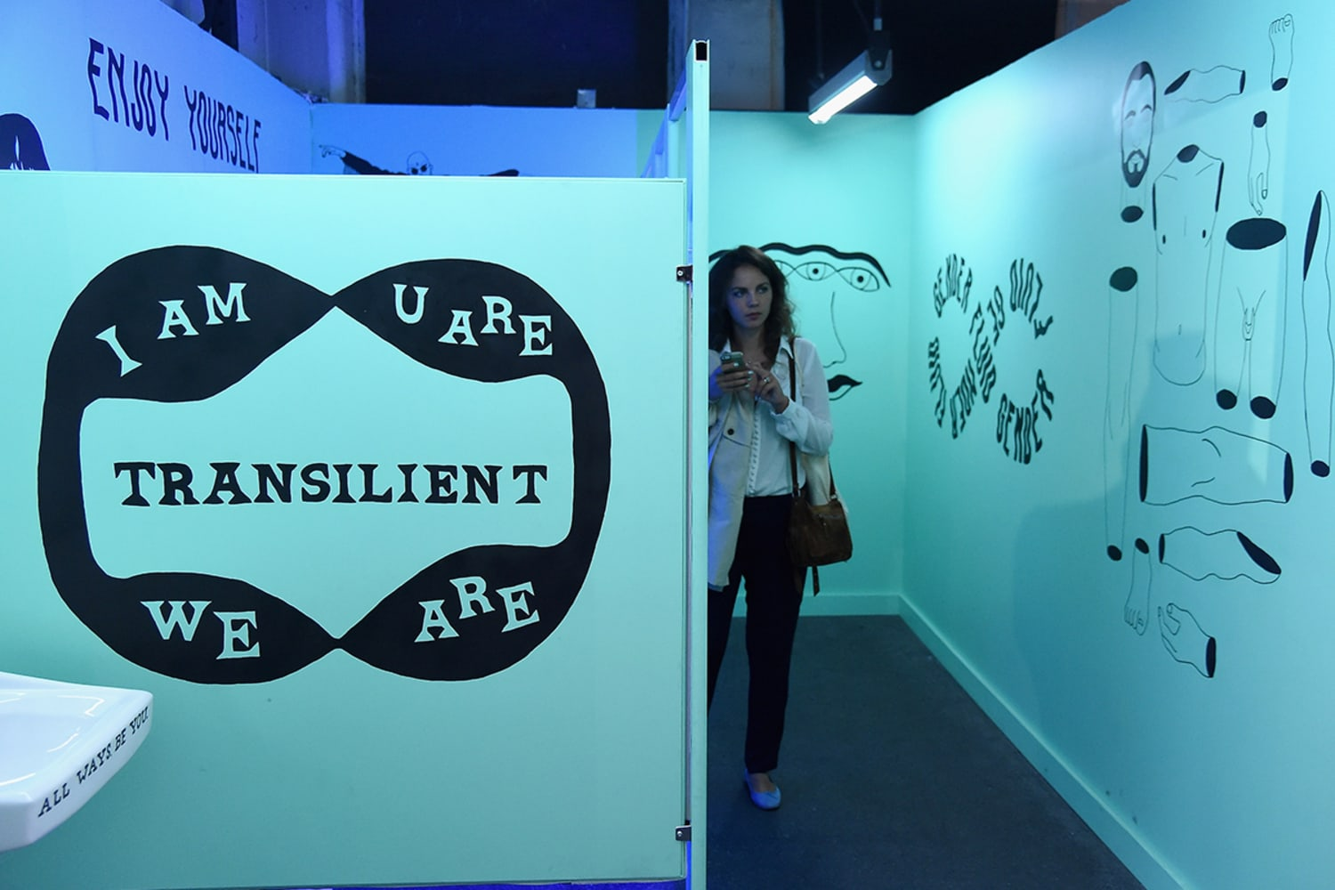 GENDER NEUTRAL in collaboration with Jill Soloways Topple and Xavier Schipani at Refinery29 Third Annual 29 Rooms Turn It Into Art Press Preview