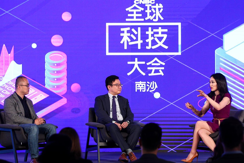 WEB Jun Yang and Ling Chenkai of JD 1