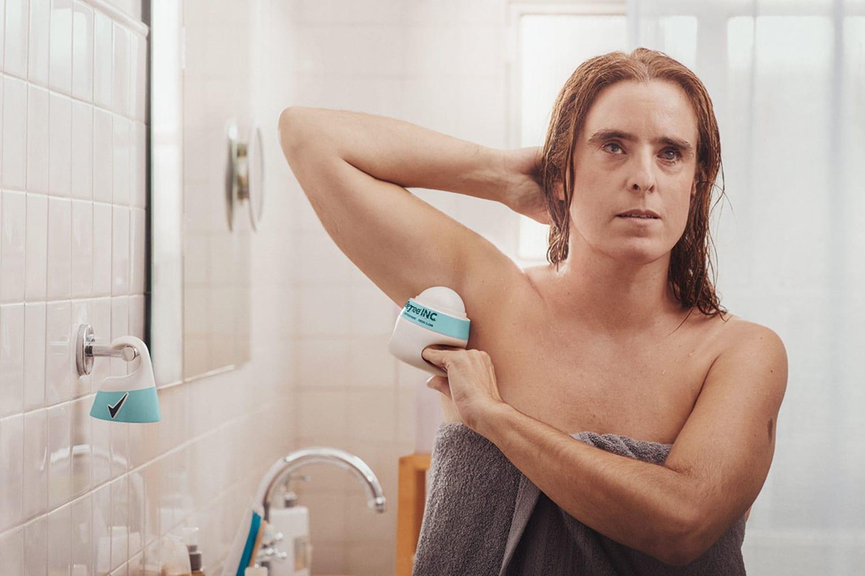 women using inclusive deodorant