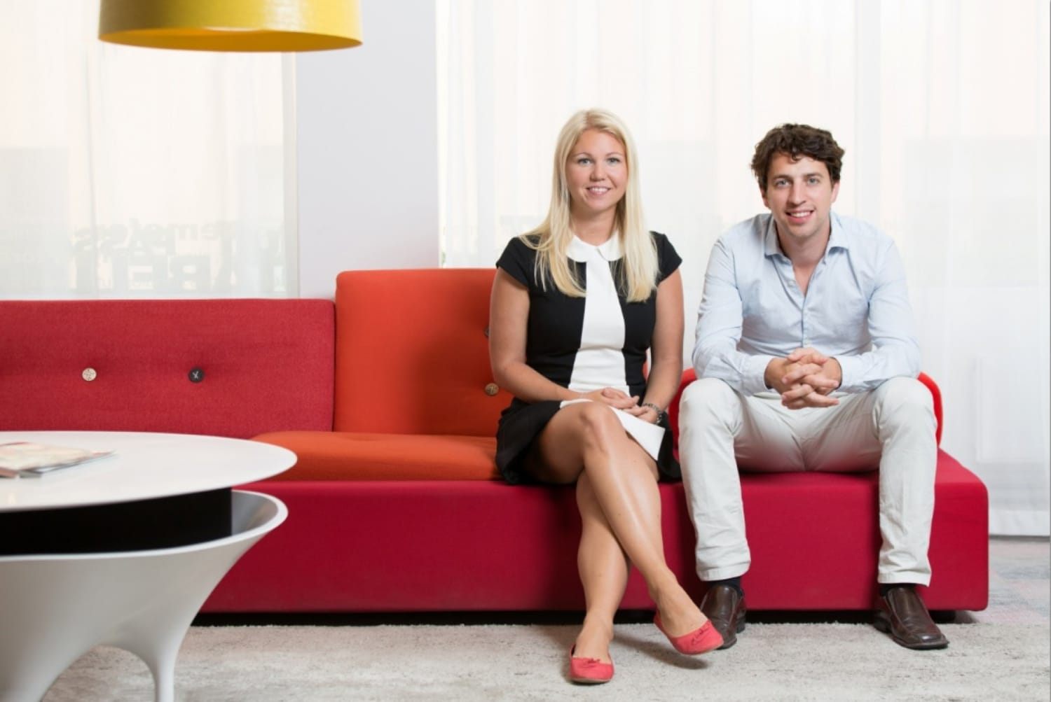 Natural cycles co founders dr elina berglund and dr raoul scherwitzl 3