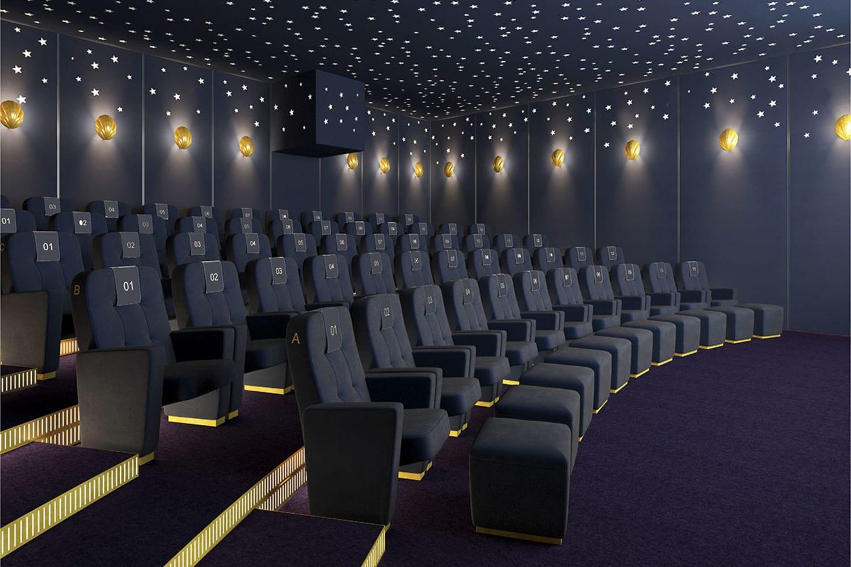 WEB Selfridges Cinema screening room Selfridges illustration hr
