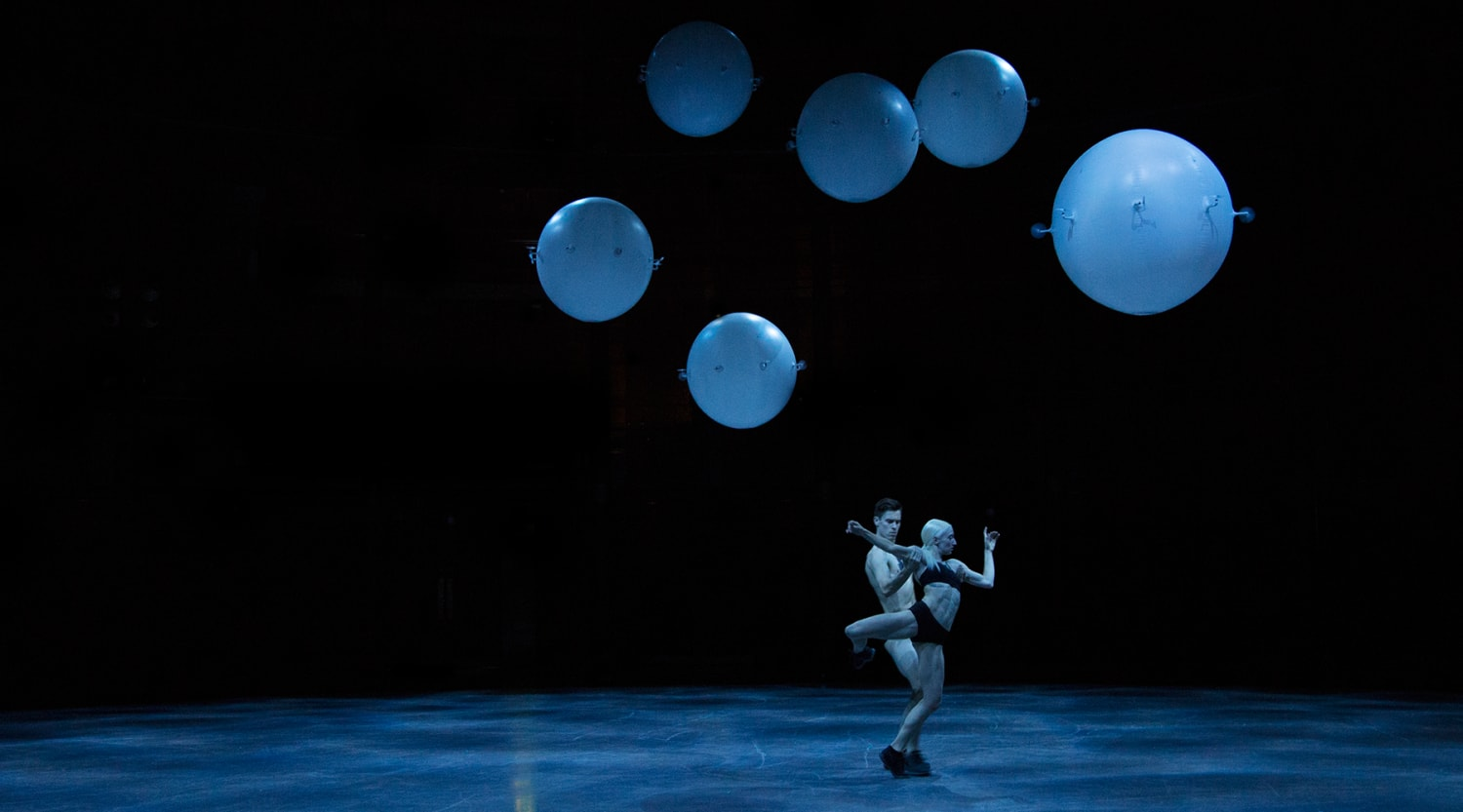 Human dance performance at the Roundhouse by Wayne Mc Gregor Credit to Ravi Deepres and Alicia Clarke