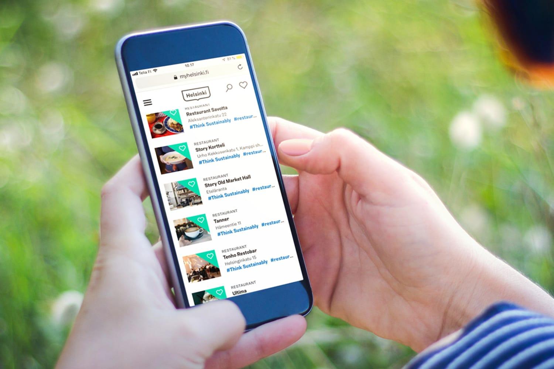 WEB myhelsinki thinksustainably mobilelist