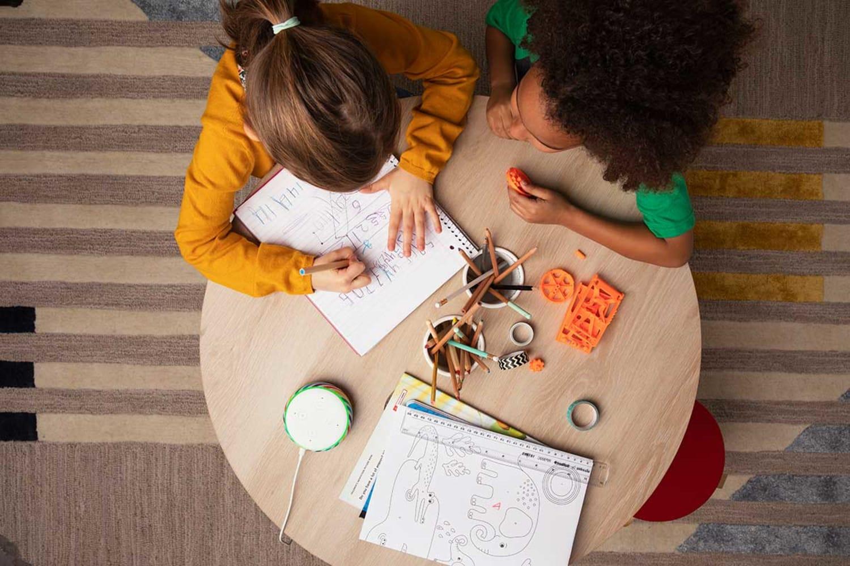 WEB Echo Dot Kids Edition Kids Table