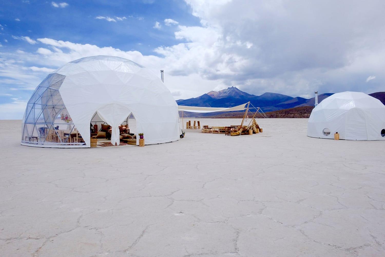 WEB Dome tents Uyuni Salt Flats Bolivia photographer Stéphane Gautronneau 3