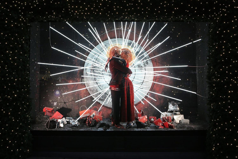 WEB Selfridges Christmas Windows 2015 Journey to the Stars Zodiac Scorpio