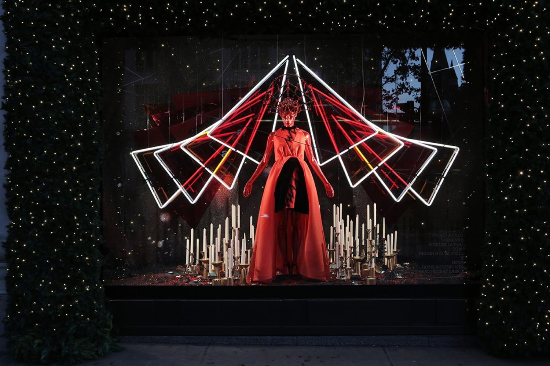 WEB Selfridges Christmas Windows 2015 Journey to the Stars Zodiac Aries