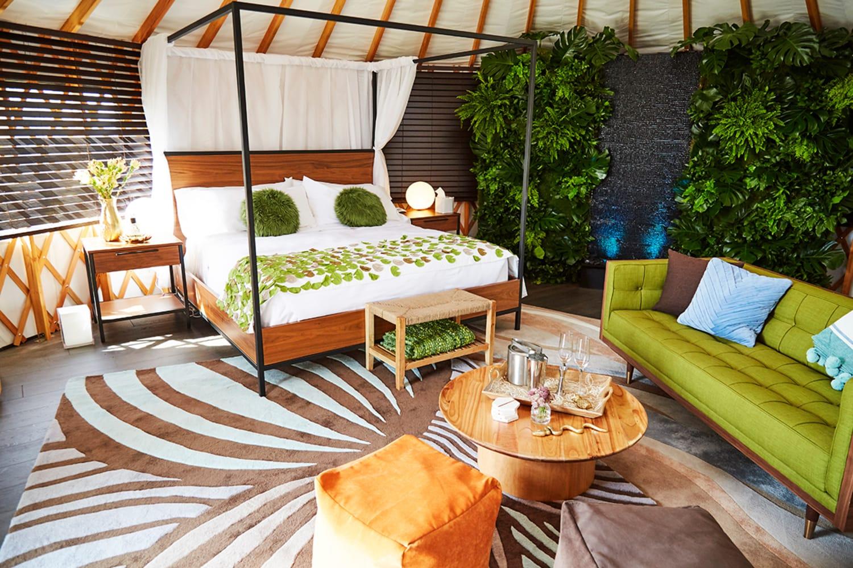 WEB W Coachella Yurt Village 2018 3