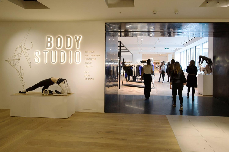WEB Selfridges launches The Body Studio entrance01