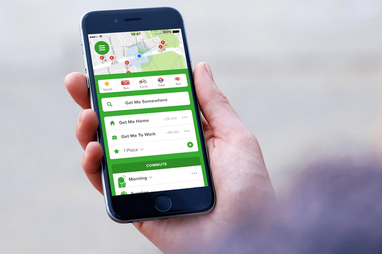 WEB 03 Citymapper iphone london