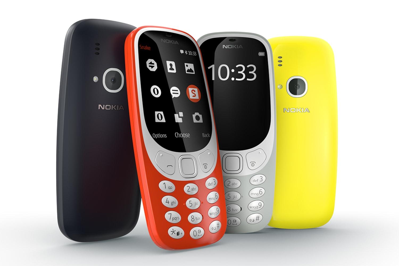 WEB Nokia 3310 range