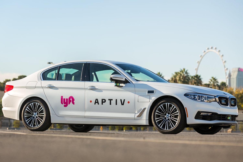 Lyft and Aptivs self driving car