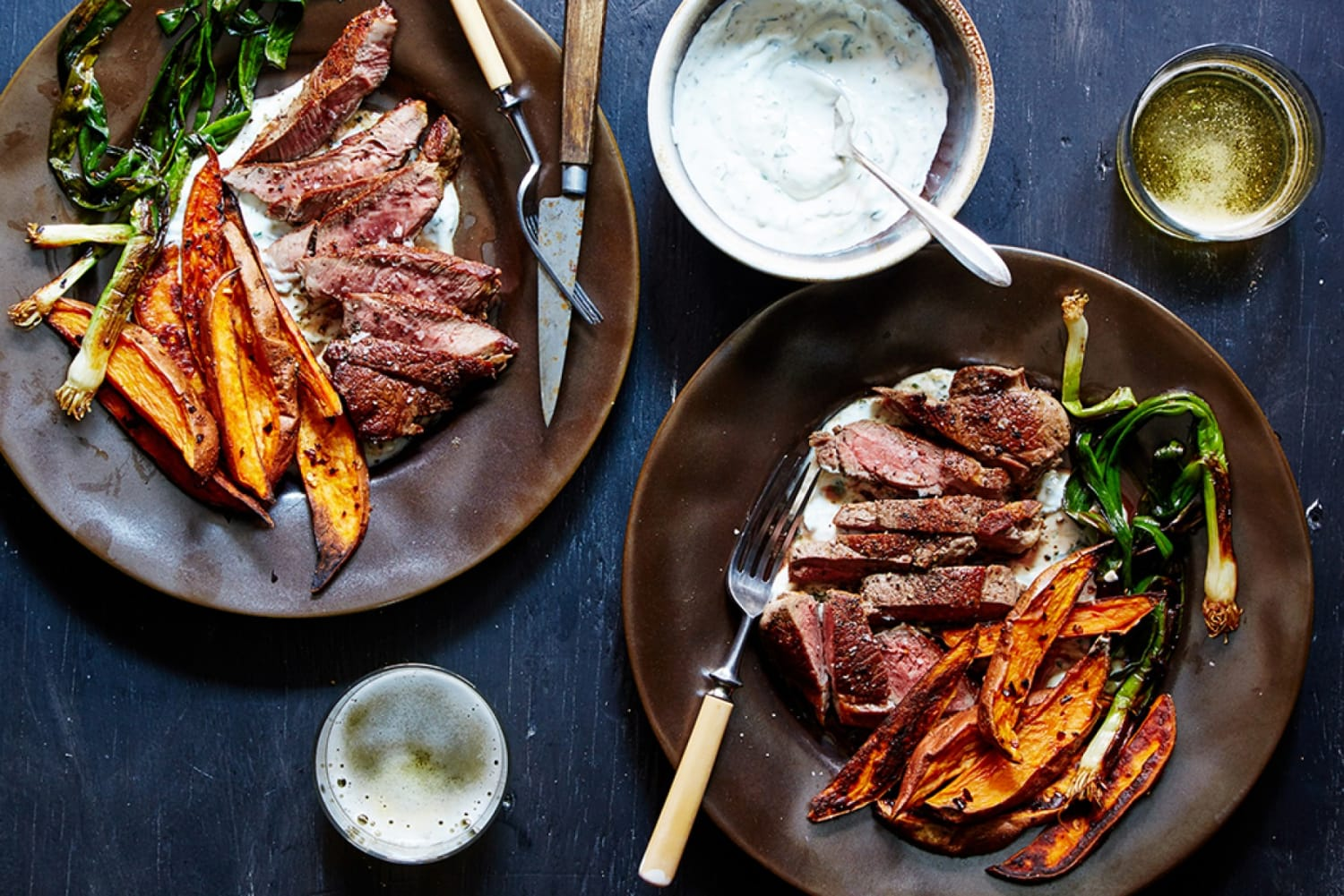Marley Spoon Lamb and Spicy Sweet Potatoes