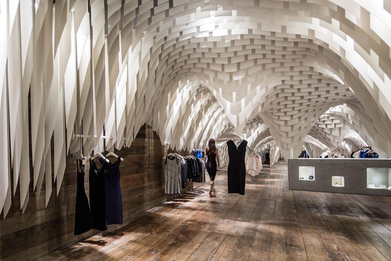 WEB SND Fashion Store by 3 Gatti Chongqing Photography by Shen Qiang