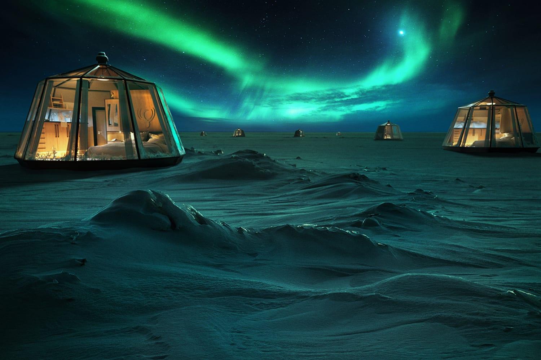WEB Luxury Action North Pole Igloos