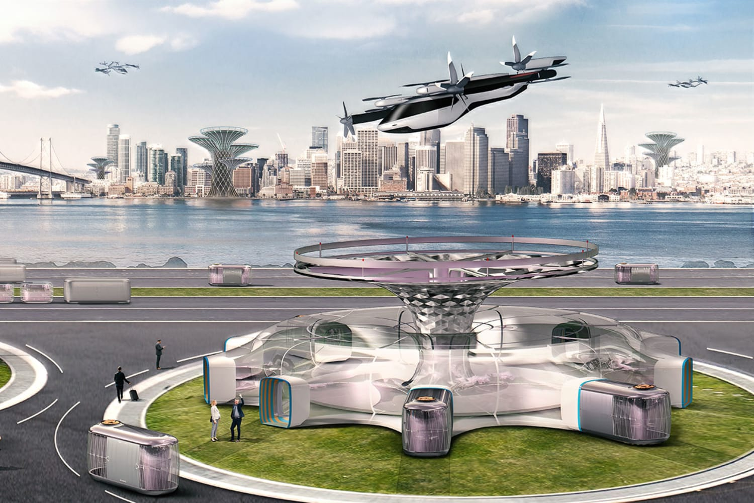 WEB Large 39825 Hyundai Motor Presents Visionfor Human Centered Future Citiesthrough Smart Mobility Solutionsat CES2020
