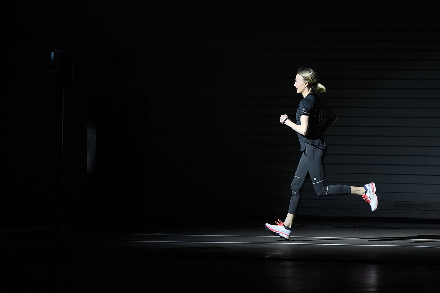 ASICS Launches The Blackout Track In London