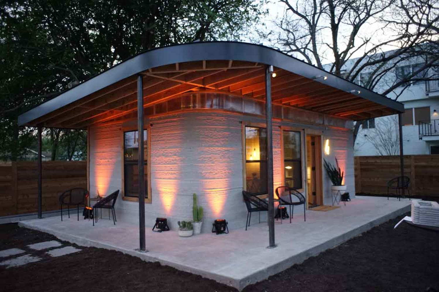 WEB First Permitted 3 D Printed Home US