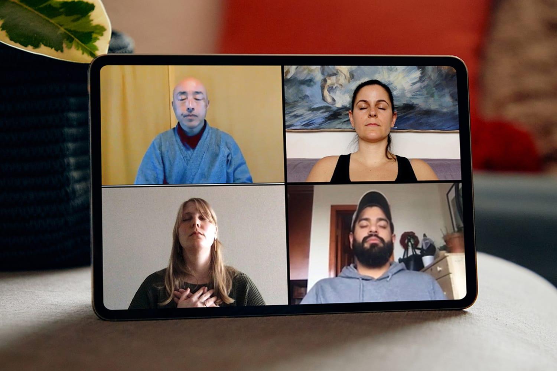 WEB Meditation with Buddhist Monks