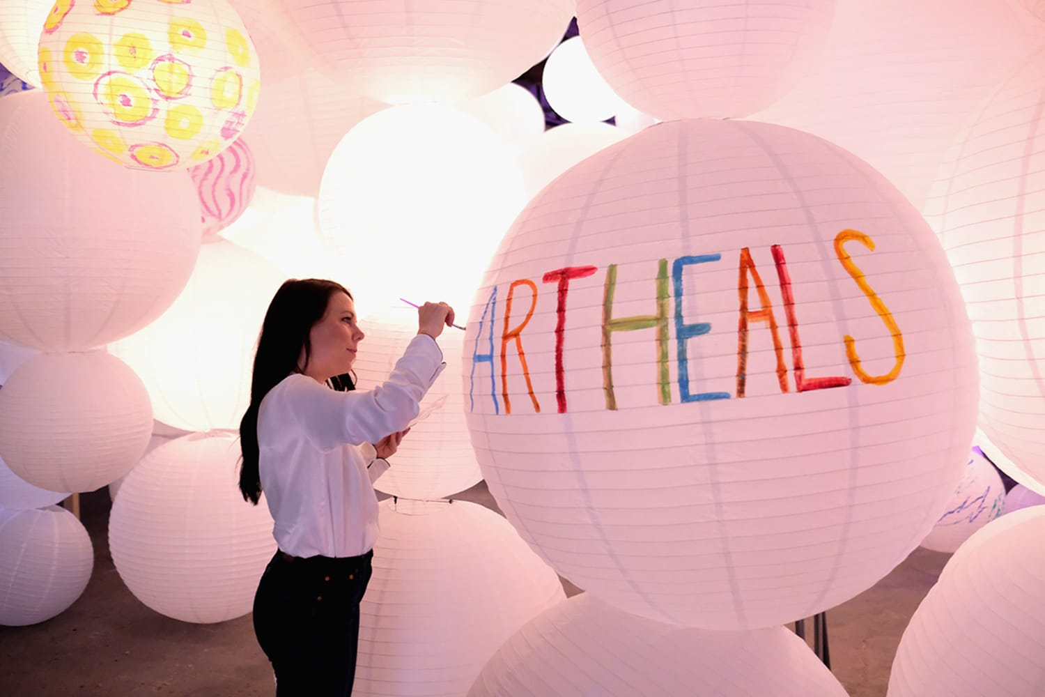Art Heals by Art of Elysium at Refinery29 Third Annual 29 Rooms Turn It Into Art Press Preview