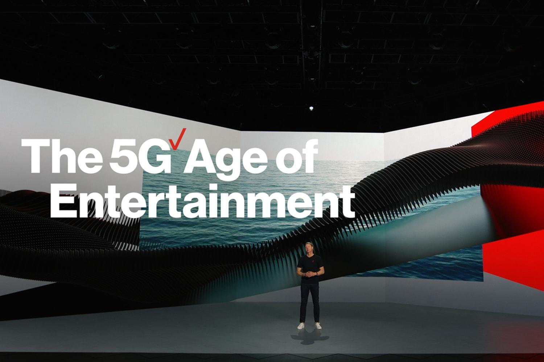 WEB Verizon CES Keynote 5 G Age of Entertainment