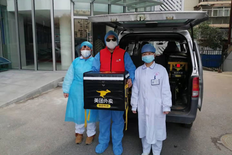 WEB Meituan offers free food for Wuhan hospital