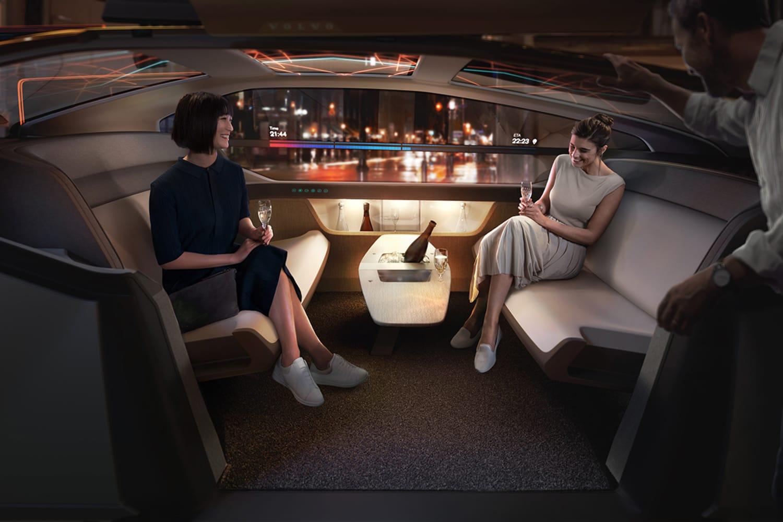 WEB 237053 Volvo 360c Interior Party