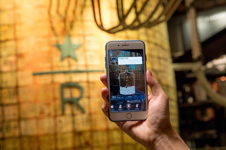 WEB Augmented App Shanghai Roastery 1