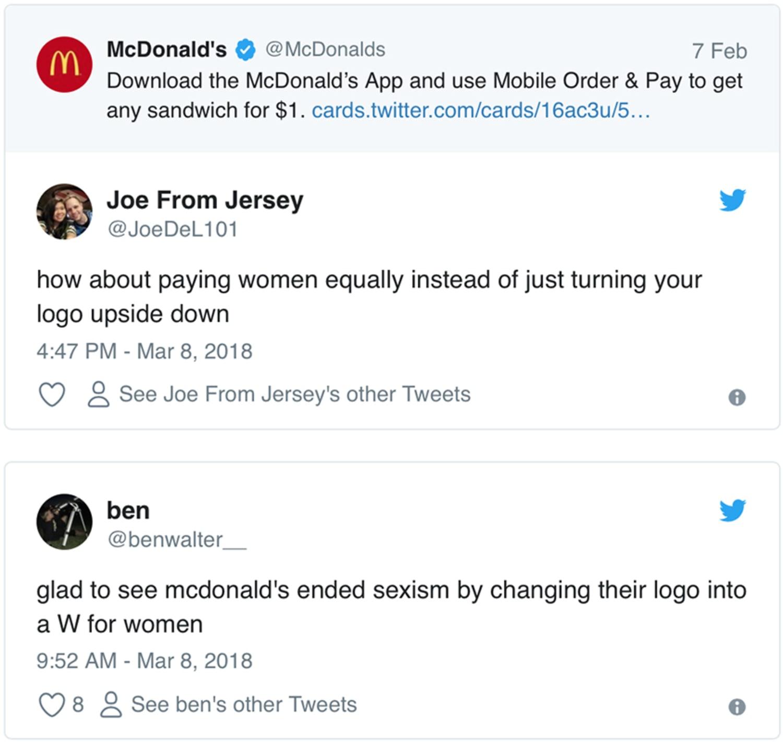 Mc Donalds backlash