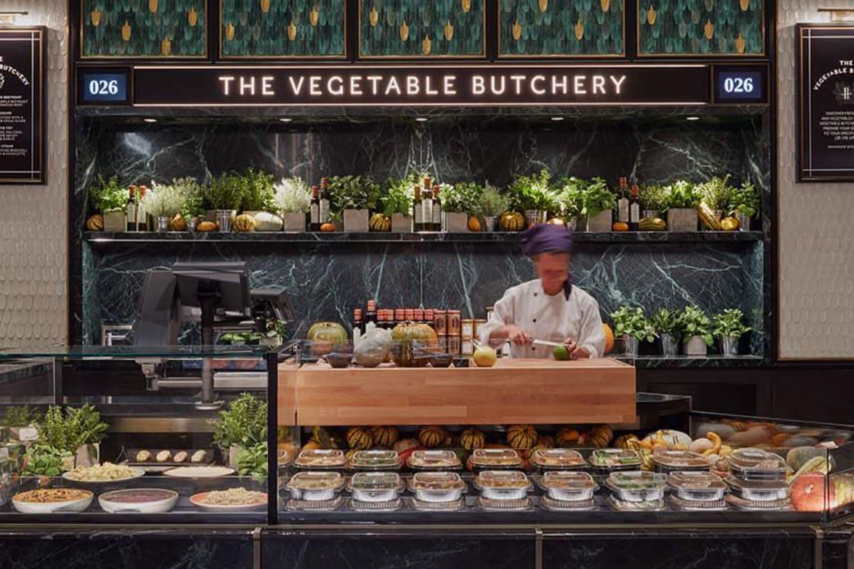 WEB Harrods vegetable butchery