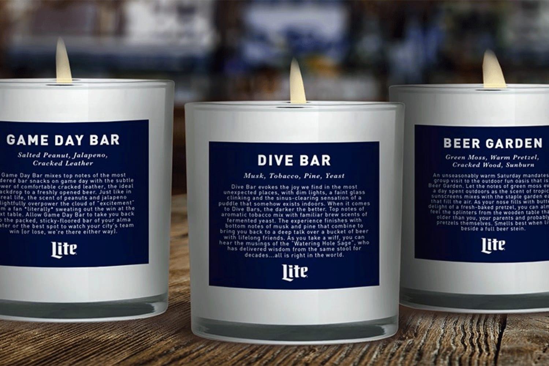 WEB Miller Lite Bar Smells