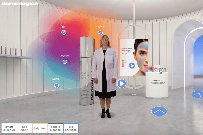 WEB dermalogica virtual store smart serum room2