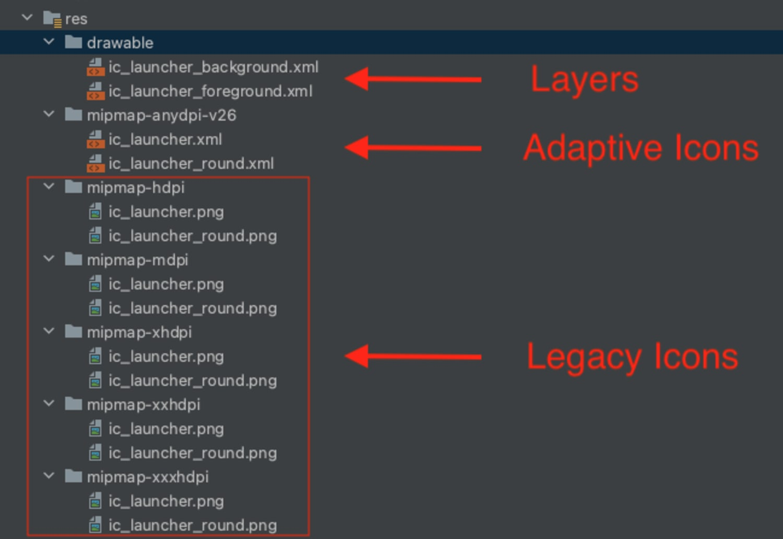 Apps INSIGHT Adaptive Icons 3