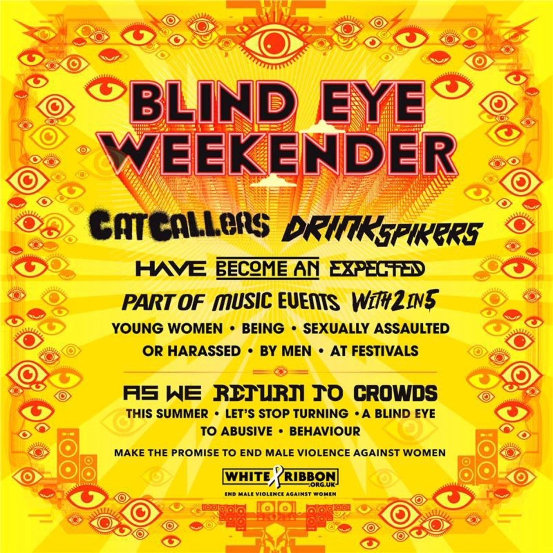 Blind eye weekender square