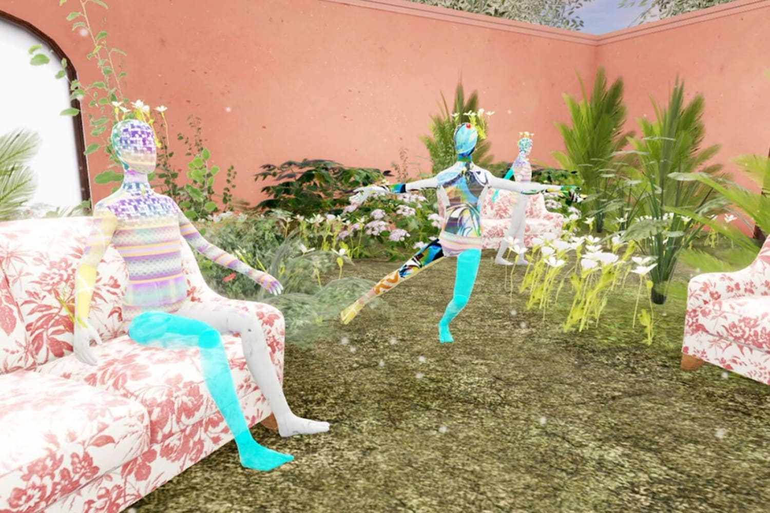 WEB In Bloom room 2 Gucci Garden on Roblox