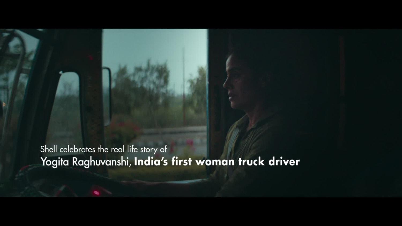 Yogita Raghuvanshi, India's first woman truck driver