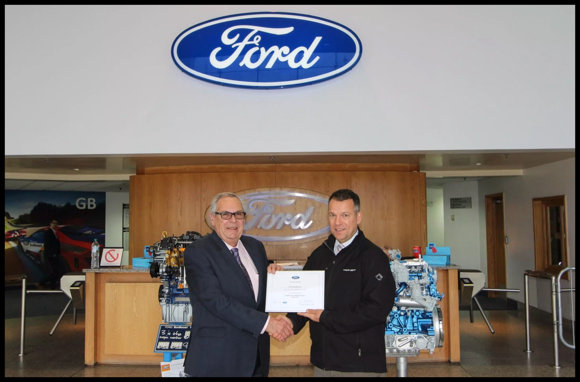 ford vehicle qualified modifier